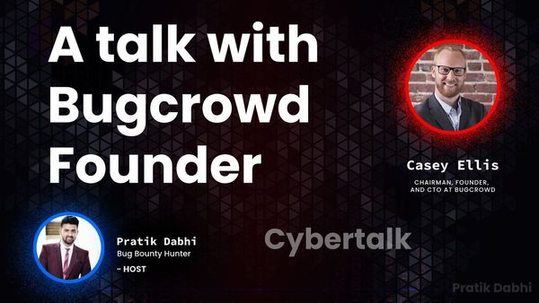 Cyber Talk Episode 14 w/ Pratik Dabhi